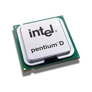 Intel Pentium D 945 CPU 3.4/4M/800 SL9QB Sockel 775 Prozessor Presler Dual Core
