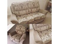 Peter Green 2 seater sofa and armchair