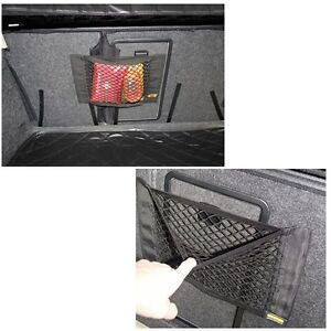 universal car truck seat rear pocket storage organizer nylon net bag velcro ebay. Black Bedroom Furniture Sets. Home Design Ideas