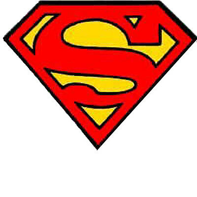 Superman Lunch Box Stickers Construction Stickers S-92