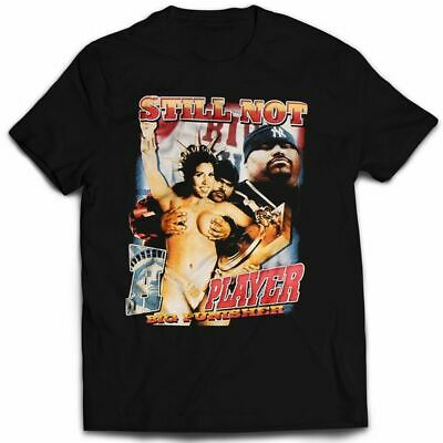 Vintage Player T-shirt (VINTAGE STYLE BIG PUN STILL NOT A PLAYER RAP T-SHIRT Reprint Size L XXL)
