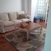 Beautiful and spacious 2+den in a 2 Story loft Eglinton West