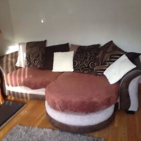 4 SEATER SOFA - GOOD CONDITION - 5 YEAR OLD