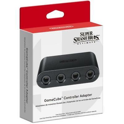Gamecube Mando Adaptador [Nintendo Switch Wii U Accesorio Súper Smash Bros