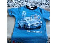 Disney Finn McMissle T-Shirt age 7-8 Years