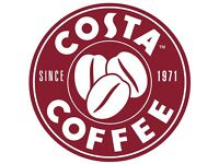 Assistant Manager, Supervisors, Barista Costa Coffee needed for a new store opening