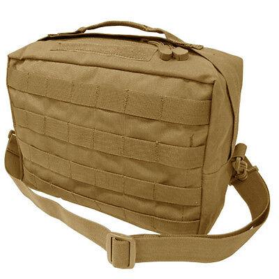 CONDOR #137 Tactical MOLLE Utility Shoulder Bag Modular Detach Straps Tan