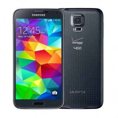"Libre TELEFONO MOVIL 5.1"" Samsung Galaxy S5 G900V 4G LTE 16GB 16MP GPS - Negro segunda mano  Embacar hacia Spain"