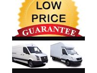 24/7 TRUCK VANS LORRY LUTON VAN HIRE WITH MOVING DRIVER FOR HOUSE REMOVALS DELIVERY SERVICE AND MAN
