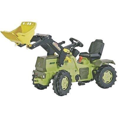 rolly toys 046690 MB-Trac 1500 mit Frontlader Flüsterreifen Schaltung Bremse gebraucht kaufen  Munningen