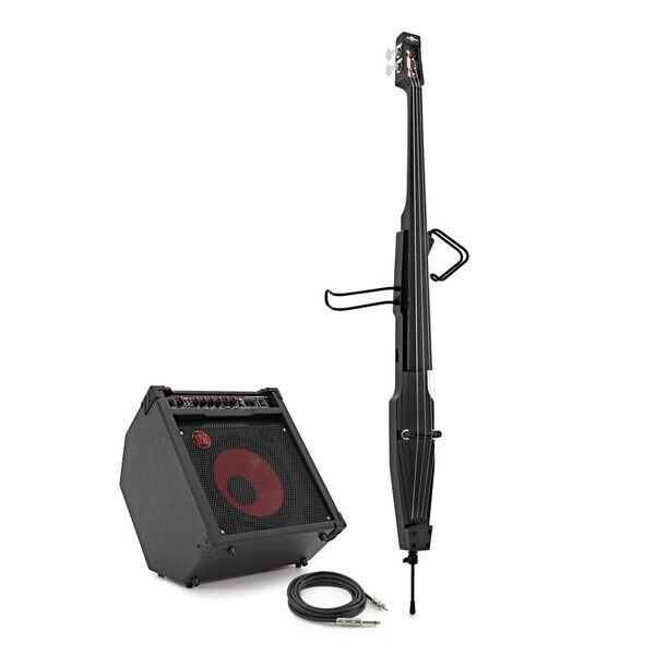3/4 Size Electric Double Bass Amp Pack Black