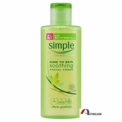 Simple Kind to Skin Soothing Facial Toner - 200 ml