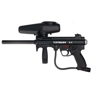 Tippmann A-5 Paintball Gun - Upgraded