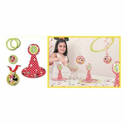 22 Piece Disney Minnie Mouse Classic Red Polka Dots Hoopla Party Game](Classic Minnie Mouse Party Supplies)