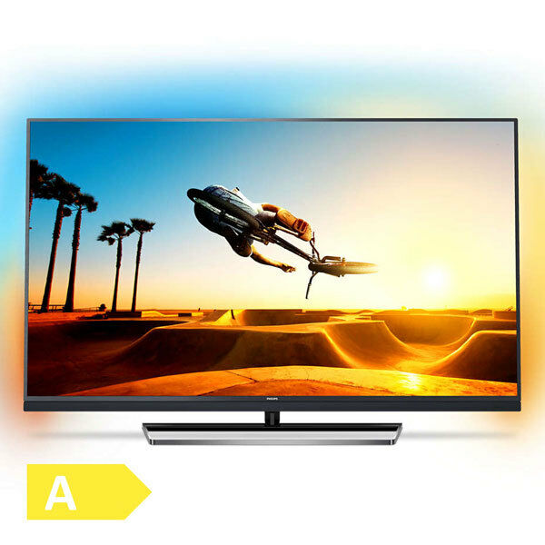 Philips 139cm 55 Zoll Ultra HD 4K LED Fernseher 3fach Ambilight Android TV WLAN