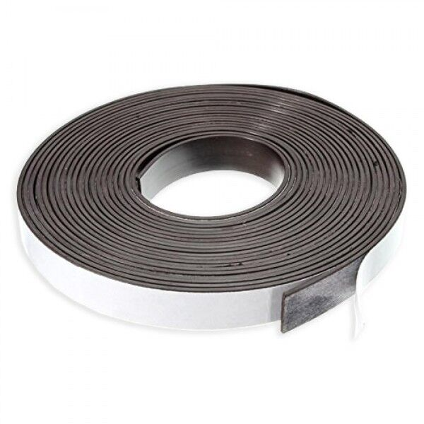 Magnetklebeband 12 mm selbstklebend Magnet Magnetstreifen Klebeband Magnetband