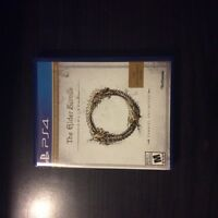 The elder scrolls ps4 with code