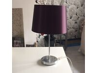 Purple 💜table lamp
