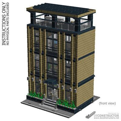 LEGO Corporate Headquarters - custom modular building (MOC) - INSTRUCTIONS