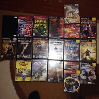 Selling all of these ps2 Games