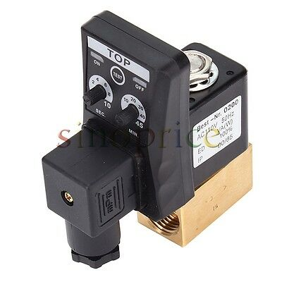 Ac 110v 12 Electronic Timed Air Compressor Automatic 2-way Drain Valve