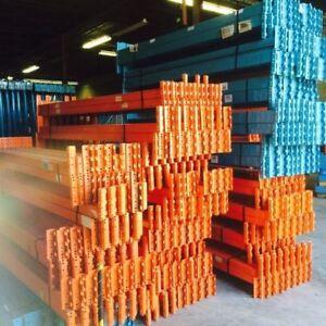 Industrial Racking Beams 8 Feet/8 Pieds Poutres Pour Étagères