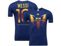 Men's Adidas Messi Champions League Finals T-Shirt