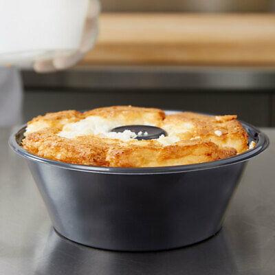 20 Pack Genpak 55sa08 Black 8 Bake N Show Smoothwall Angel Food Cake Pan