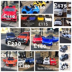 All Cars Are Parental Remote Control & Self Drive From £100