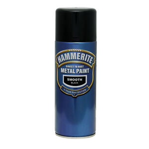 Hammerite-Smooth-Metal-Paint-400ml-Spray-ALL-COLS-x-4-Cans