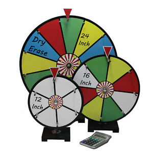 Spinning Prize Wheels for Sale Small, Medium and Large BRAND NEW