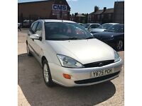 Ford Focus 1.4 CL (silver) 2001