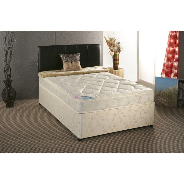EXCLUSIVE SALE! Free Delivery! Brand New Looking! Double (Single + King Size) Bed & M Plus Mattress