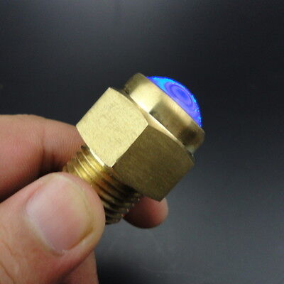 "Bright Blue LED Drain Plug Light 1/2"" NPT For Marine Boat Underwater Excellent"