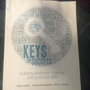 Keys to success text
