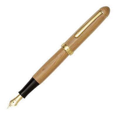 Platinum#3776 PTB-50000YN#62-M Century Yaku-sugi Fountain Pen(Point: Medium) BBG