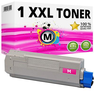 C830 Magenta Toner (1x XXL Toner Magenta für Oki C810CDTN C810DN C810N C830CDTN C830DN C830N)