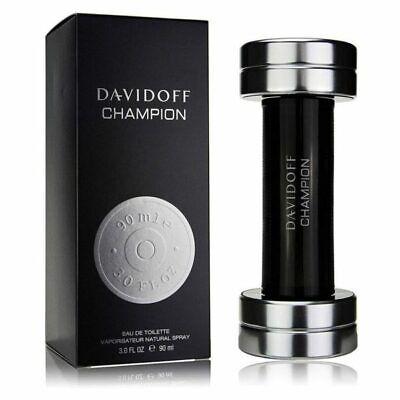 DAVIDOFF CHAMPION 90ML EAU DE TOILETTE SPRAY BRAND NEW & SEALED