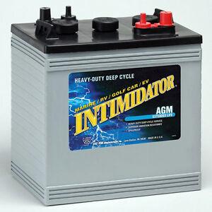 Batterie Solaire AGM 6V Intimidator 8AGC2 de 220Ah, garantie 2 a