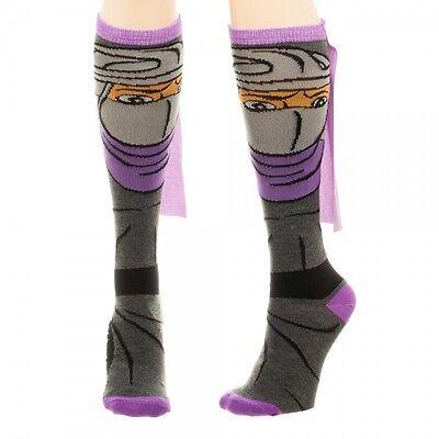 SHREDDER WITH CAPE Teenage Mutant Ninja Turtles 1 Pair Knee High Socks TMNT - Ninja Turtle Knee High Socks