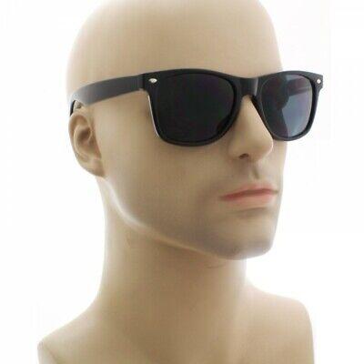 MENS Sunglasses WAYFARE Style Black Frame Classic Dark (Wayfarer Mens)