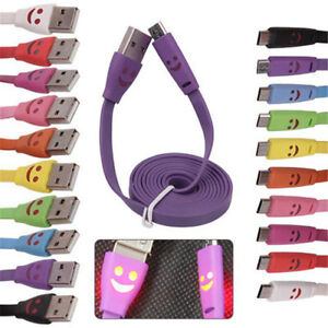 Led light up colorful flash micro usb data sync charger cable Kitchener / Waterloo Kitchener Area image 1