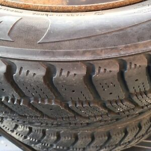 Winter tires ... LOTS OF TREAD .... for quick sale