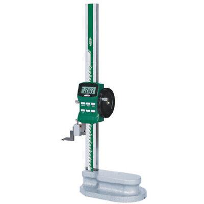 Insize Electronic Digital Height Gauge W Driving Wheel 0-240-600mm 1156-600
