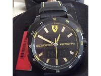 Ferrari duel time sports watch