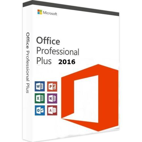 Office 2016 Professional Plus MS Office PRO Plus, Vollversion Key DE-Händler
