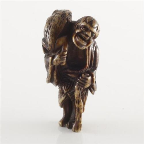 Very Beautiful Japanese Netsuke.