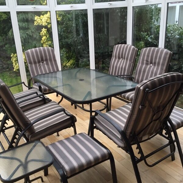 Bali 11 Piece Garden Dining Set In Whitley Bay Tyne And