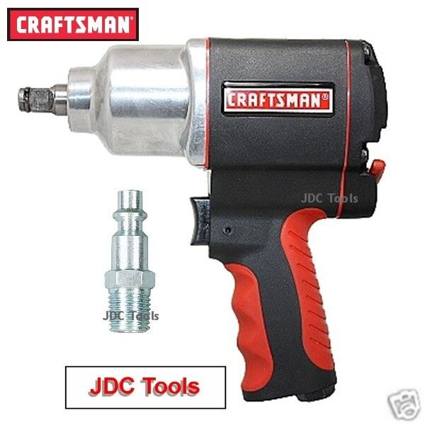 Craftsman 1/2 Drive Air Impact Wrench High Torque Pistol Grip Tool