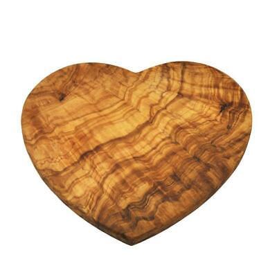 OLIVE WOOD HEART SHAPE CUTTING / CHEESE BOARD  (OL222) Olive Wood Cutting Board
